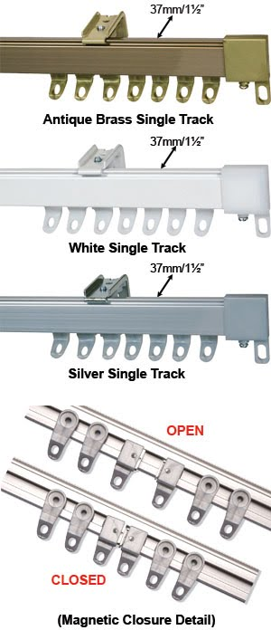 Curtain Tracks - MTC The London Curtain Track & Blind Fitter