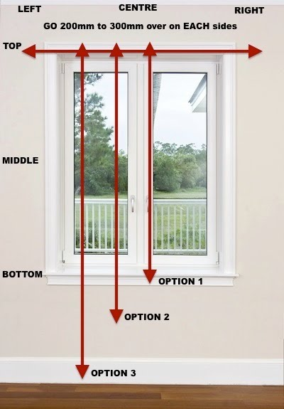 How to how to measure windows for curtains : Simple Measuring guide for Curtains